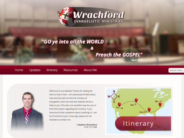 Wrachford Evangelistic Ministries